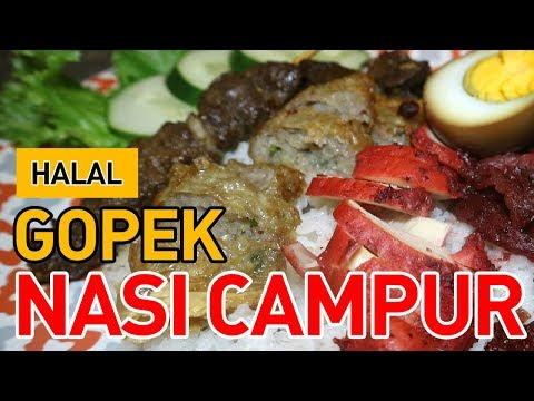NASI CAMPUR HALAL ALA GOPEK!!! ft. Anak Kuliner