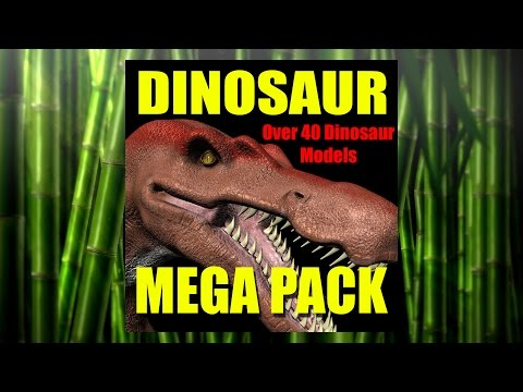 Dinosaur 3D Model Collection -Make Your Own Jurassic World