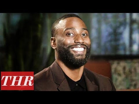 John David Washington Plays 'Finish This Sentence!' The Rock, Rihanna, Bobby Fisher & More! | THR