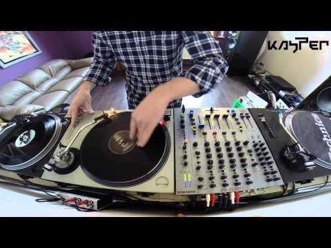 KASPER / WEEKENDERS on 3 Decks Vinyl Drum And Bass Mix 3/2014 Lodz Poland