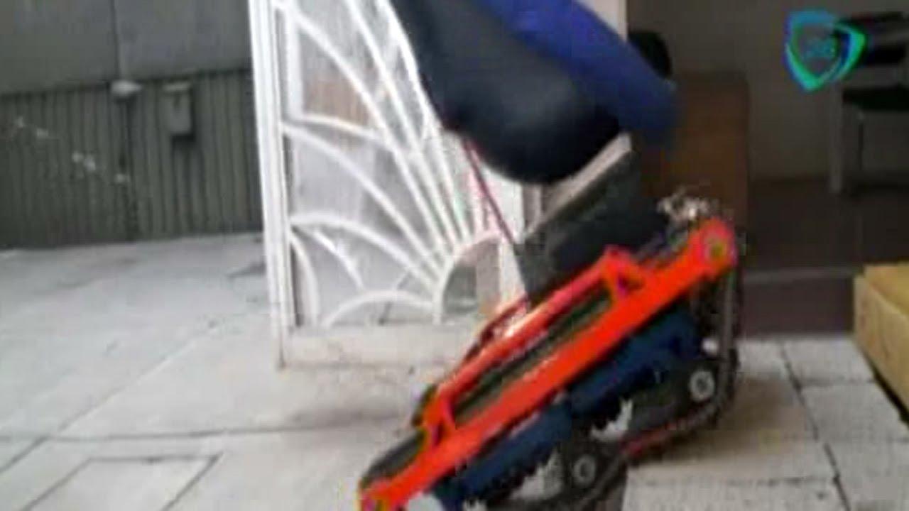 Mexicanos desarrollan la planechair silla de ruedas para for Sillas para subir y bajar escaleras