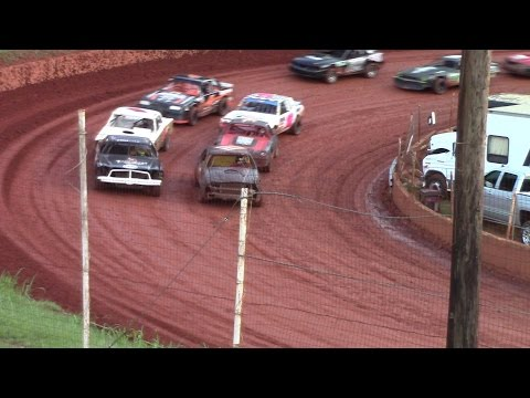 Winder Barrow Speedway Street Stock Feature Race 8/13/16