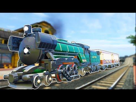 THE EMERALD NIGHT TRAIN! - Lego City Undercover HD Gameplay - 100% #23 (Kid Friendly Lego Fun!)
