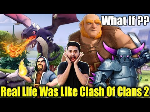 What If Real Life Was Like Clash Of Clans 2 - Ft. Sumit 007 | Dekhte Rahoo
