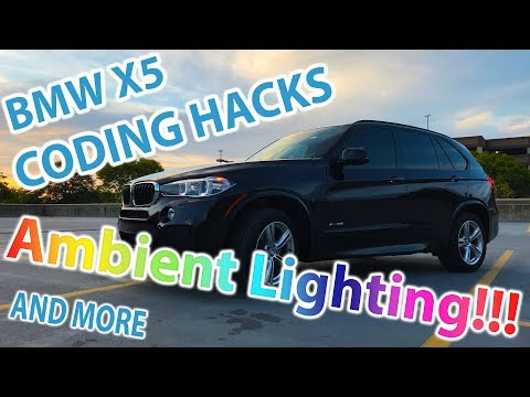 BMW X5 Hacks & Coding - Ambient Lighting and More!!! - YouTube