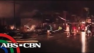 Fire guts 12 buildings in Davao Del Norte