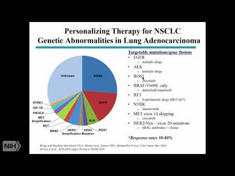TRACO 2018 - Non-small Cell Lung Cancer And Genomics