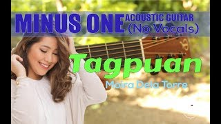 Moira Dela Torre - Tagpuan acoustic minus one cover