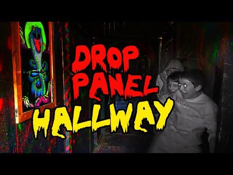 Halloween DIY | Drop Panel Haunted Hallway