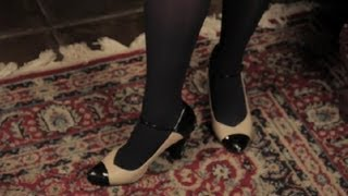 Can I Wear Navy Opaque Tights For A Job Interview Hosiery Stockings Tights Youtube