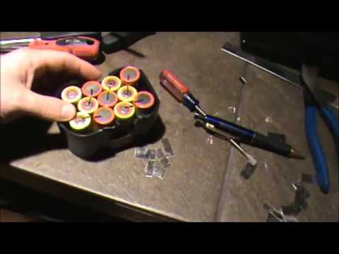 cordless tool battery pack rebuild youtube