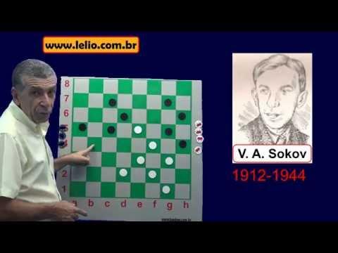 Um gênio no jogo de damas chamado Sokov