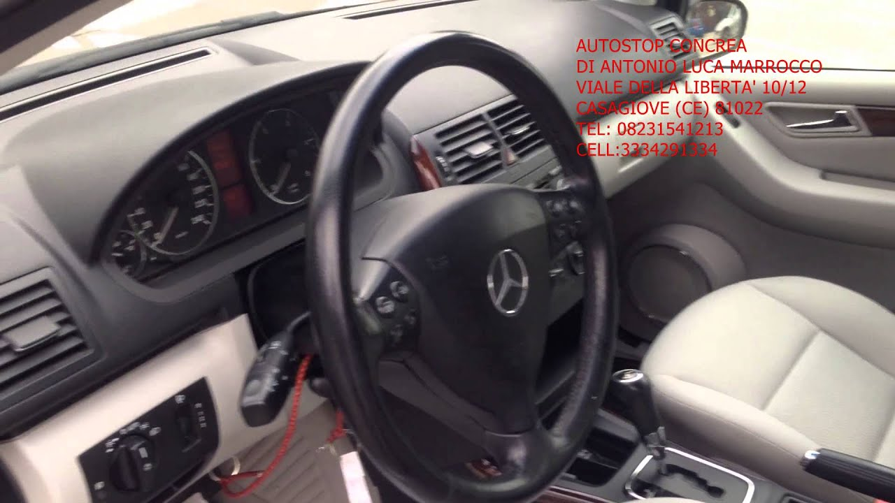 mercedes classe a 180 cdi elegance automatica youtube. Black Bedroom Furniture Sets. Home Design Ideas