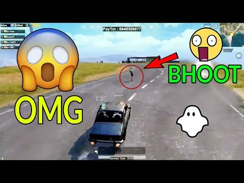 GHOST IN PUBG MOBILE GAME OMG ????????????