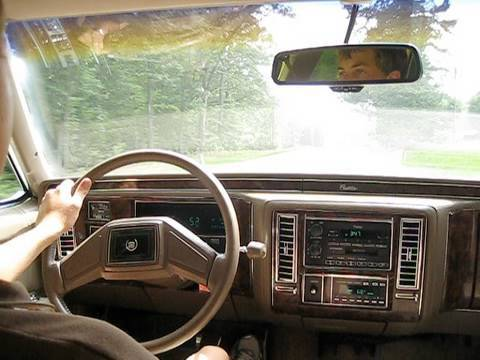Test Drive The 1990 Cadillac Brougham Youtube