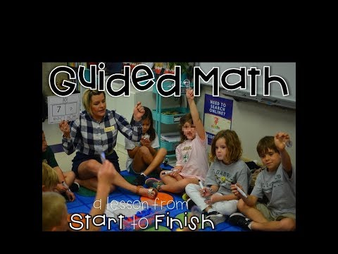 Guided Math Start to Finish video