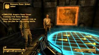 Fallout New Vegas: How to Get Remnants Power Armor + Gannon Family Tesla Armor EASY!