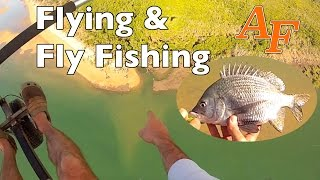 Flying n Fly Fishing using Ultralight to go fishing Andysfishing Whitsundays EP.78