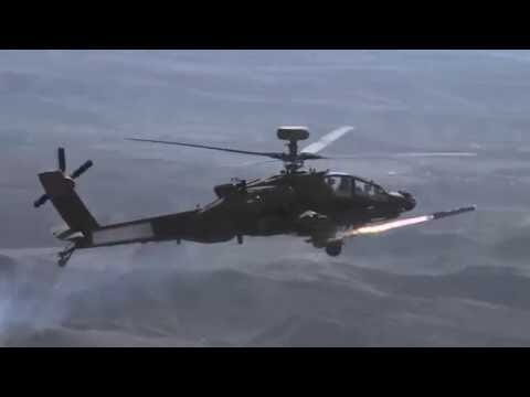 Brimstone missile on Apache AH-64E