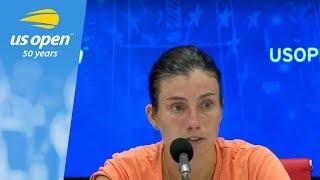 2018 US Open Press Conference: Anastasija Sevastova