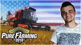 Pure Farming 2018 DEMO ☆ Żniwa w USA z Zetorem ㋡