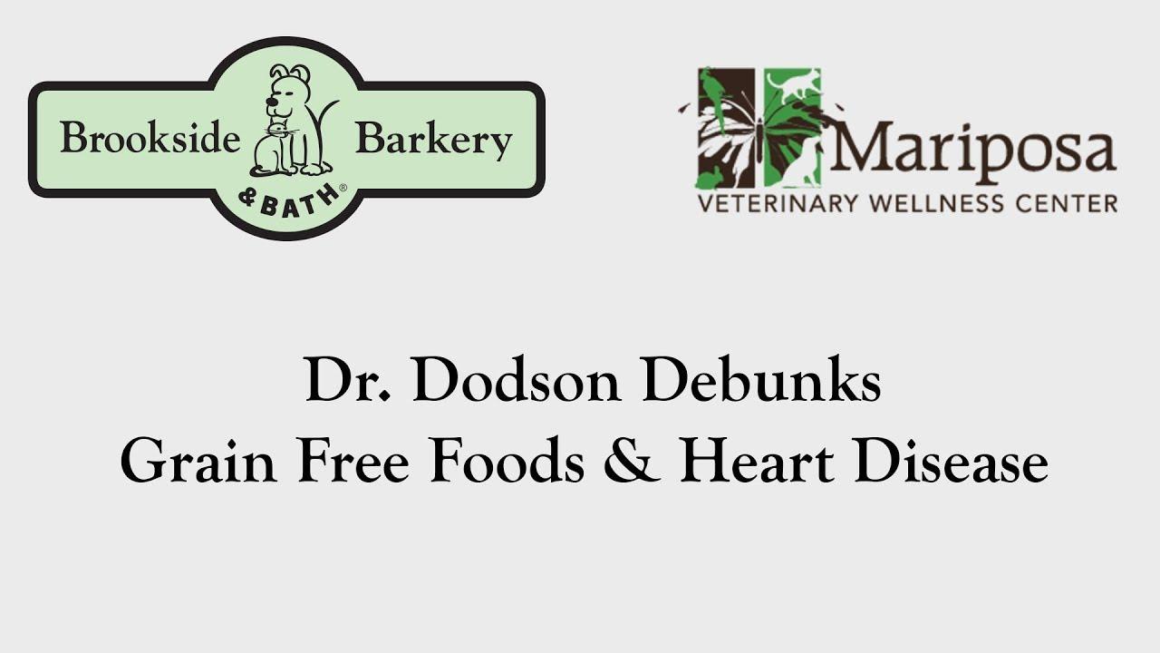 Dr. Dodson on Grain-Free Foods & Heart Disease in Dogs