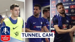 Extended Tunnel Cam as Chelsea Overcome Saints! | Chelsea 2-0 Southampton | Emirates FA Cup