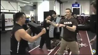 Ror on BTV for Krav Maga