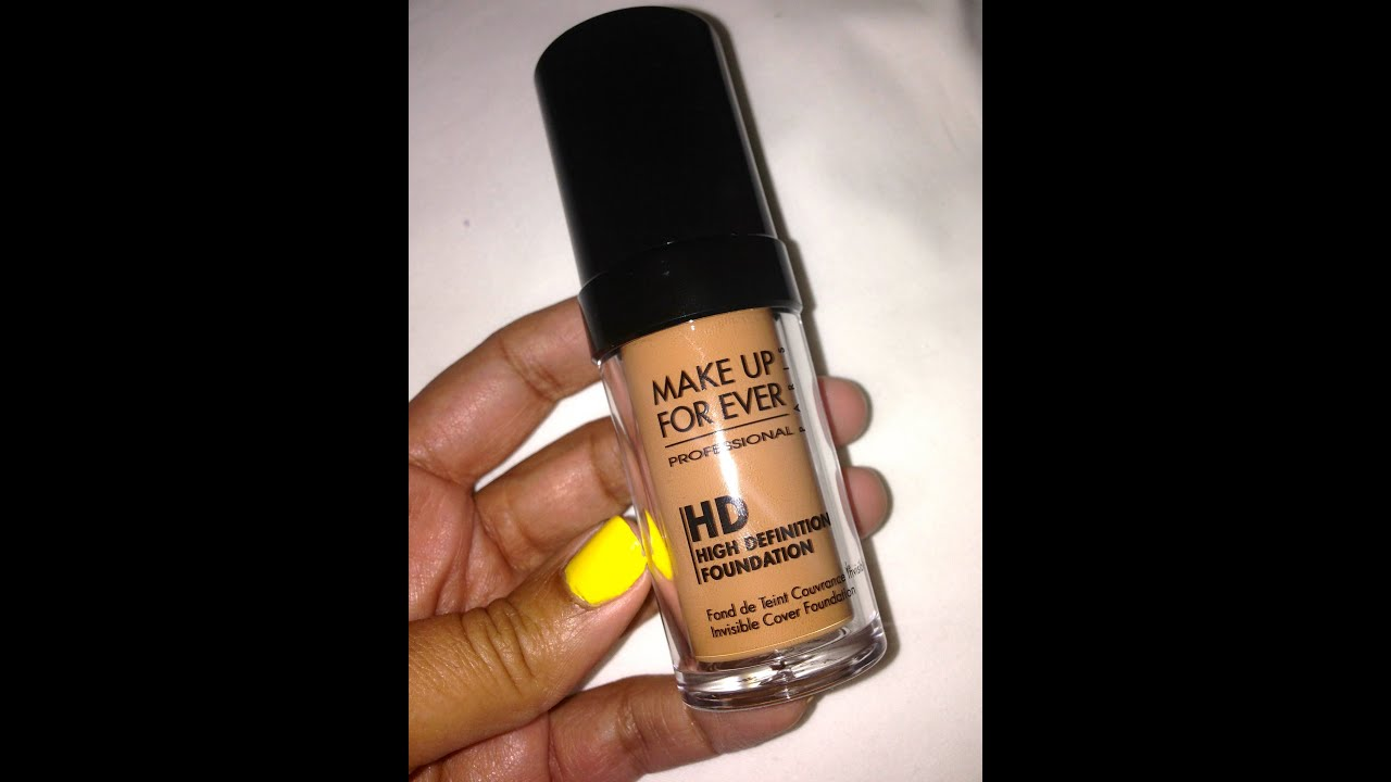 Before & After | MakeUp Forever HD Foundation - YouTube