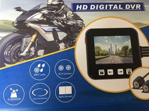 MOTORBIKE DASH CAM HOW TO FIT ON YOU BIKE MOPED MARK SAVAGE