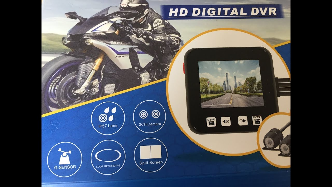Video MOTORBIKE DASH CAM HOW TO FIT ON YOU BIKE MOPED MARK SAVAGE