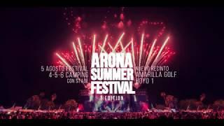 arona summer festival 2017 presentation
