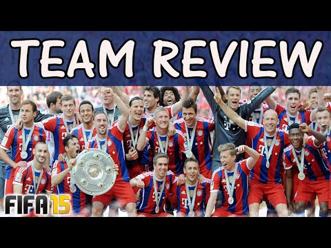 FIFA 15 Bayern Munchen  BEST LINE-UP TACTICS & FORMATION / TEAM REVIEW / Best Fifa Guide