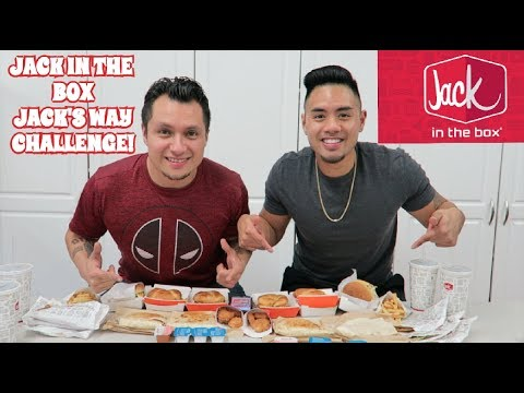 JACK IN THE BOX VALUE JACK'S WAY MENU CHALLENGE!