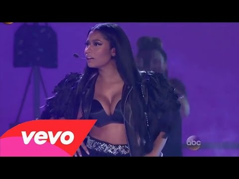 Nicki Minaj - The Night Is Still Young & Hey Mama ( 2015 Billboard Music Awards Live Performance )
