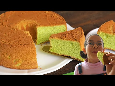 gâteau-eponge-au-pandan-:-sans-levure,-sans-colorant,-100%-naturel---cooking-with-morgane