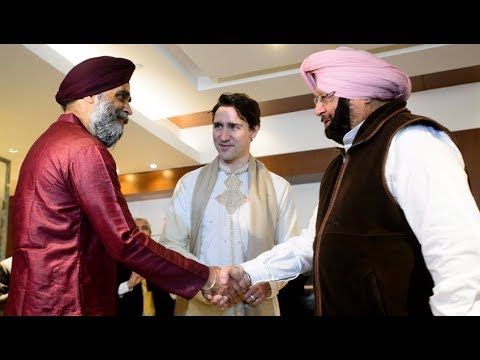 Justin Trudeau meets Punjab leader who accused Canada of supporting Sikh separatism