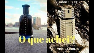 Hugo Boss Bottled Night e Lapidus Pour Homme Gold Extreme - Resenha