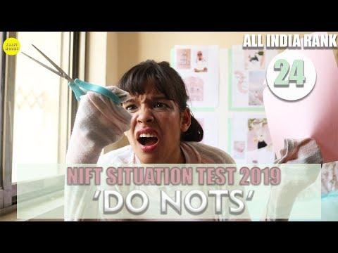 NIFT SITUATION TEST 2020 : 10 'DO NOTS' | MISTAKES TO AVOID | Kaafimoody