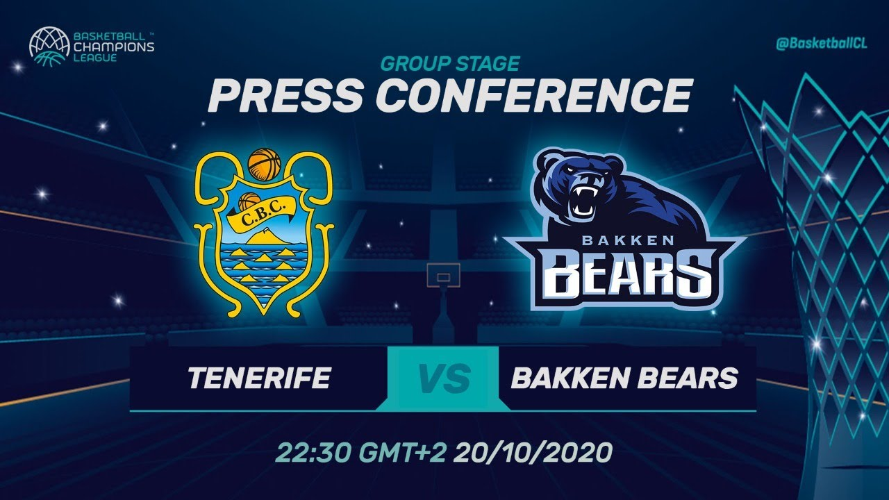 LIVE 🔴 Iberostar Tenerife v Bakken Bears - Press Conference