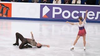 Mishina Galliamov Test Skates 2021 SP Мишина Галлямов Прокаты КП 11 09 2021