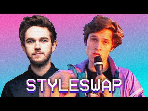 If THE MIDDLE by ZEDD, GREY & MAREN MORRIS was an 80s HIT! | STYLESWAP