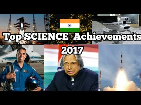 Indias Scientific achievements 2017 | HINDI