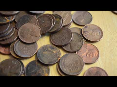 Sorting Me Coppers! (Wheat Pennies Found)