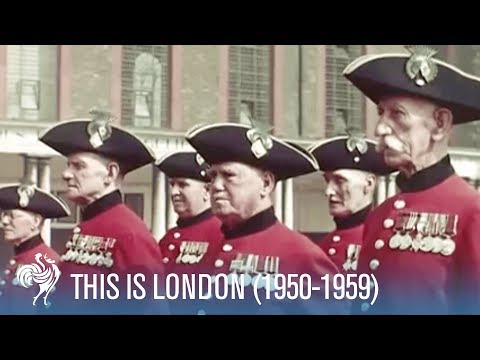 This Is London: The City In The Fifties Ft. Rex Harrison (1950-1959) | British Pathé