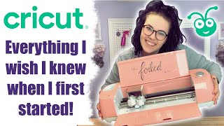 CRICUT FOR BEGINNERS: Everything I wish I knew when I first started!