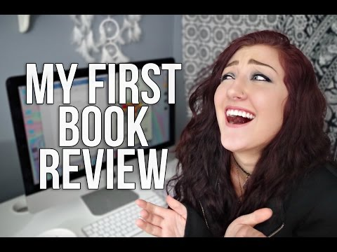 READING MY FIRST BOOK REVIEW.