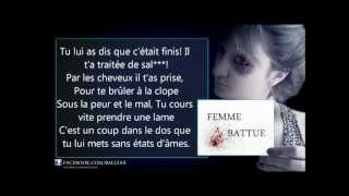 Ballfak - Femme Battue ♥ - Paroles [OFFICIEL]