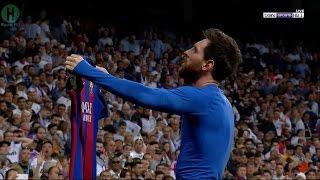 اهداف مبارة ريال مدريد و برشلونة  | 2-3  | الدوري الإسباني |  23-4-2017