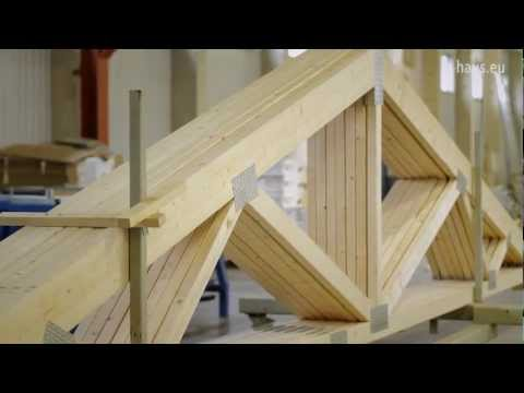 Q-haus video: Roof trusses